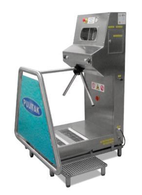 Lavasuole pneumatico in acciaio inox sanificazione igienizzazione 927 Sanitik USA